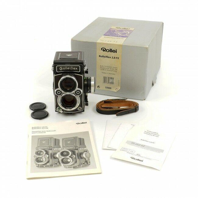Rolleiflex 2.8 FX Planar 80mm HFT + Box