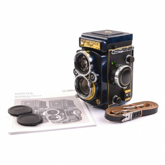 Rolleiflex 2.8GX Royal Urushi Pre-Series Prototype