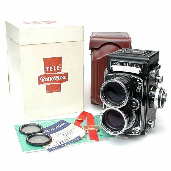 Rolleiflex Tele-Rolleiflex + Box