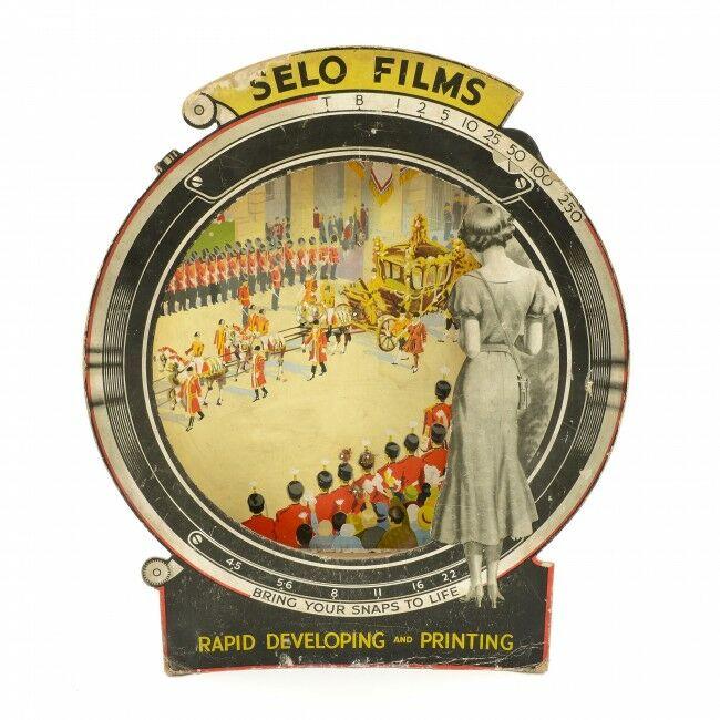 Selochrome 35mm Camera Film Display Around 1937