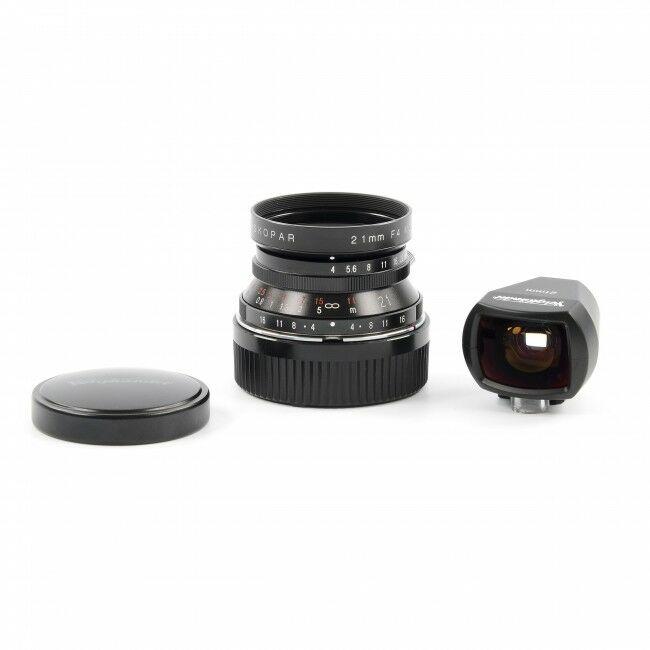 Voigtländer 21mm f4 Color-Skopar M39 + Finder