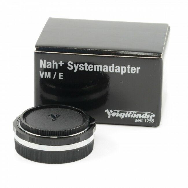 Voigtländer Close Focus Adapter VM / E + Box