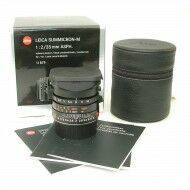 Leica 35mm f2 Summicron-M ASPH Black + Box