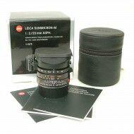 Leica 35mm f2 Summicron-M ASPH Black + Box