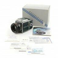 Hasselblad 501CM Green Chrome Set + 80mm CFE + A12 + Box