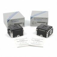 Hasselblad A12 Film Back Chrome 2 PCS Consecutive Numbers + Box
