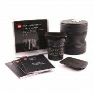 Leica 18mm f3.8 Super-Elmar-M ASPH + Box