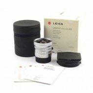 Leica 21mm f2.8 Elmarit-M ASPH Silver + Box Rare