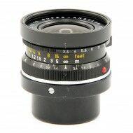 Leica 21mm f3.4 Super-Angulon Black