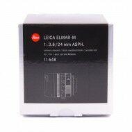 Leica 24mm f3.8 Elmar M ASPH + Box
