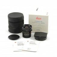 Leica 24mm f2.8 Elmarit-M ASPH Black + Box