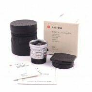 Leica 24mm f2.8 Elmarit-M ASPH Silver + Box Rare