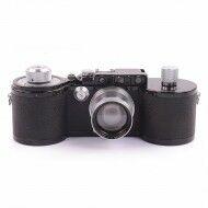 Leica 250GG Motor Coupling + Leica 5cm f2 Summitar Lens