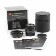 Leica 35mm f2 Summicron-M ASPH Limited Edition Matt Black + Box