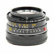 Leica 35mm f2 Summicron-M Black 4th Version King Of Bokeh Tiger Claw