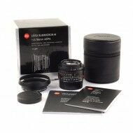 Leica 35mm f2 Summicron-M ASPH Limited Edition Matt Black + Box