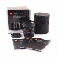 Leica 35mm f2 Summicron-M ASPH Black Chrome Limited Edition + Box
