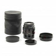 Leica 50mm f2 APO-Summicron-M ASPH LHSA Black Paint