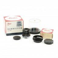 Leica 50mm f2 Summicron 3rd Version + Hood + Box