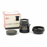 Leica 50mm f2 Summicron-M + Box * Number !!!