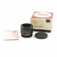 Leica 50mm f2 Summicron-R 3-Cam + Box