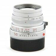 Leica 50mm f2 Summicron-M Silver