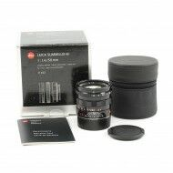 Leica 50mm f1.4 Summilux-M Black Paint + Box
