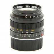 Leica 50mm f1.4 Summilux Black