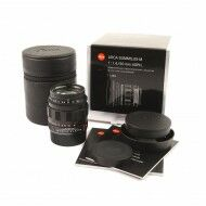 Leica 50mm f1.4 Summilux-M ASPH Limited Edition Matt Black + Box
