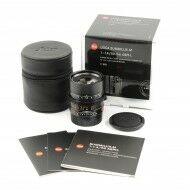 Leica 50mm f1.4 Summilux-M ASPH Black + Box
