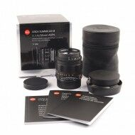 Leica 50mm f1.4 Summilux-M ASPH Matt Black Limited Edition + Box