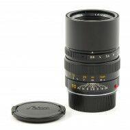 Leica 90mm f2.8 Elmarit-M Black 6-Bit