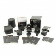 Leica 90mm f4 Macro-Elmar-M Black Set