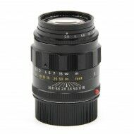 Leica 90mm f2.8 Tele-Elmarit Black