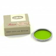 Leica E43 GGR Green Filter Chrome + Box