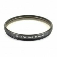Leica E58 UVA Filter Black For 50mm f1 Noctilux E58 Lens Very Rare