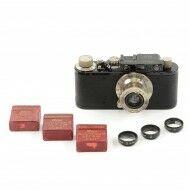 Leica I conversion II + Close-Up Lenses