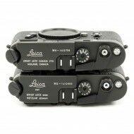 Leica M4 Black Chrome 50 Years Canada + Wetzlar Engraving Set