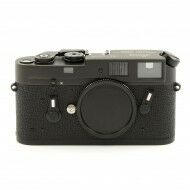 Leica M4 Black Chrome Canada Engraving