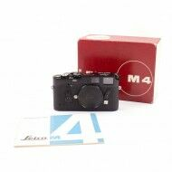 Leica M4 Black Paint + Box