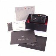 Leica M6 Millennium Black Paint