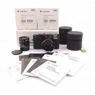 Leica M6 TTL Millennium Black Paint Set With 2 Lenses Complete