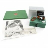 "Leica MP ""Terry O'Neill"" Safari Green Set + Signed Print + Box"