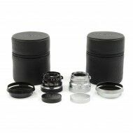 Light Lens Lab V2LC 35mm f2 Lens Silver + Black Paint Leica Clone