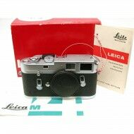 Leica M4 Chrome + Case + Box + Warranty Card