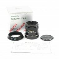 Mamiya 80mm f4 L Lens + Box For 7 / 7 II