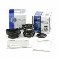 Olympus M. Zuiko Digital 12mm f2 ED MSC Lens Black + Box