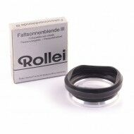 Rolleiflex Bayonet III Collapsible Lens Hood + Box