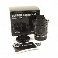Voigtländer 21mm f1.8 Ultron Aspherical + Box