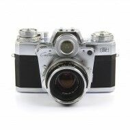 Zeiss Ikon Contarex Bullseye Model G + Carl Zeiss 50mm f2 Blitz-Planar